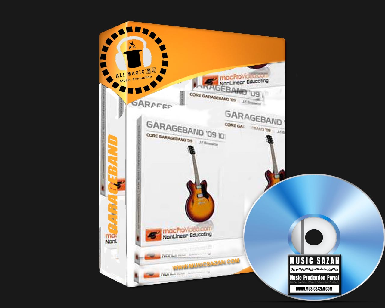 GarageBand | Mac OSX | 10 DVD Full