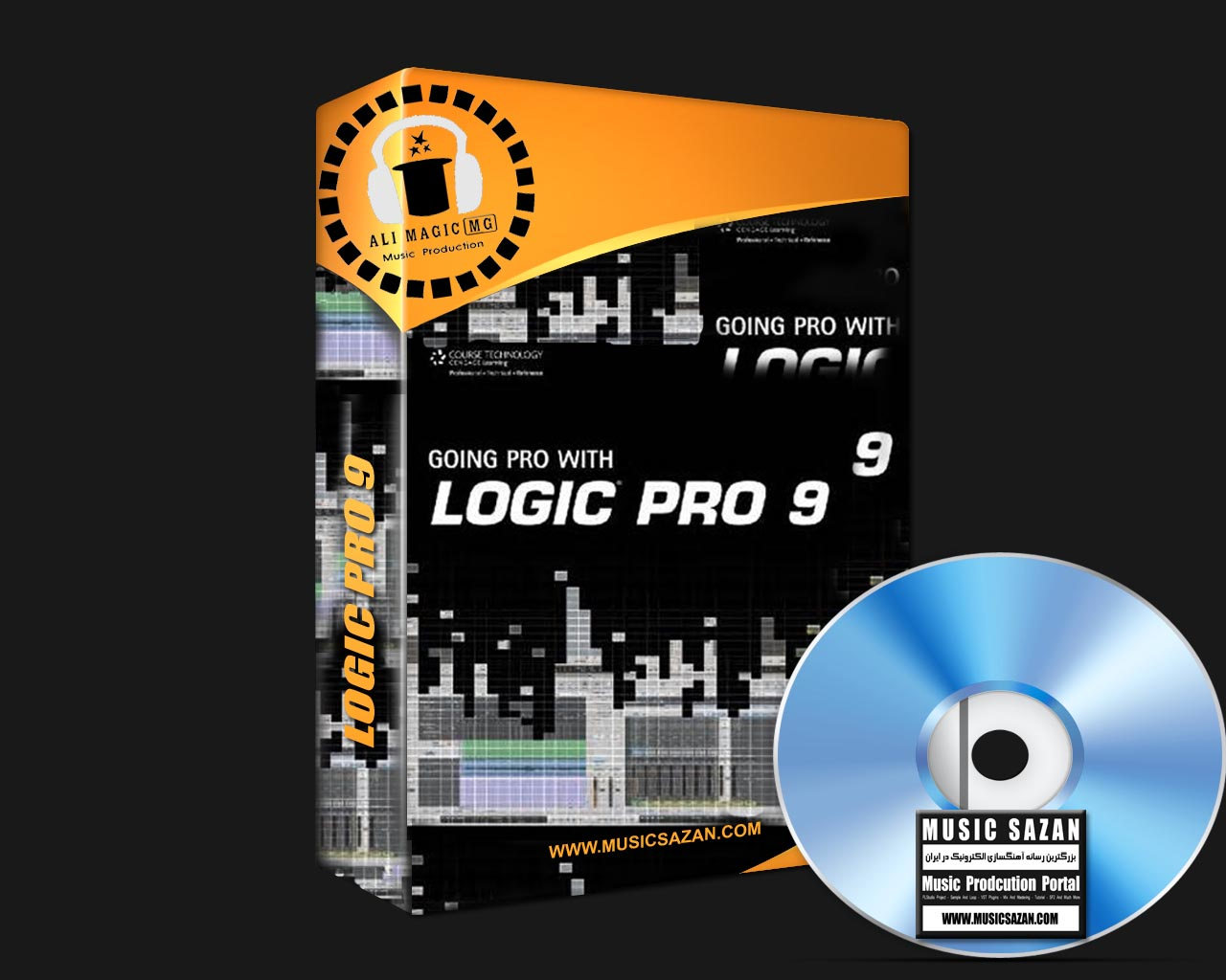 Logic Pro 9 | Mac OSX | 15 DVD Full