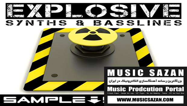 Sample Station Explosive Synths & Basslines