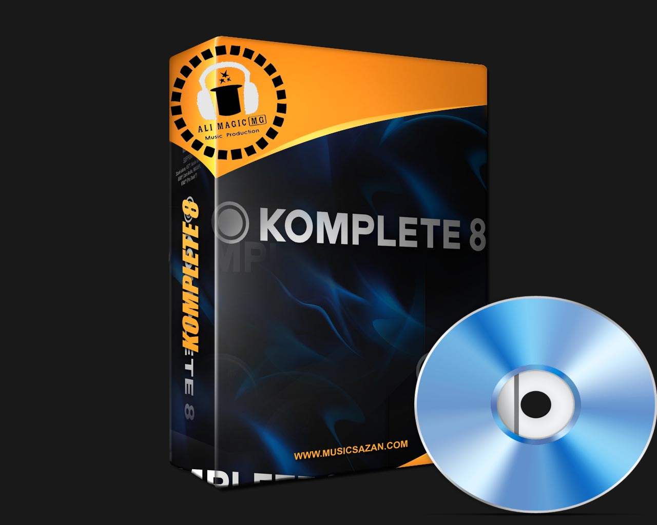 Native Instruments - Komplete 8 | 12 DVD